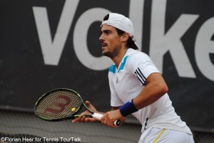 Guido Pella is playing his best tournament in Europe