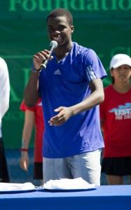 Frances Tiafoe will play this year's French Open main draw (photo: Tallahassee Challenger)