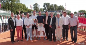 Robin Haase claimed his tenth ATP Challenger title in Aix-en-Provence