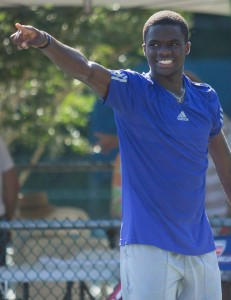 Frances Tiafoe will play his very first ATP Challenger final on Sunday (photo: Tallahasse Challenger)