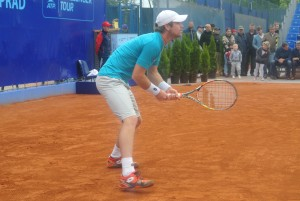 Blaz Kavcic lost in the opening round