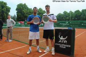 Guillermo Duran and Horacio Zeballos are Fürth's doubles champions