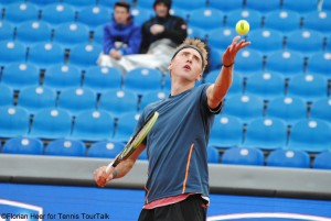 Bastian Trinker at this year's BMW Open in Munich