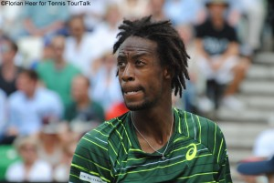 Gael Monfils lost to Nadal for the 10th time in their 13th meering