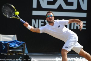 Viktor Troicki has reached his second final of the season