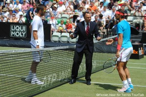 Rafael Nadal and Viktor Troicki met for the fifth time on the tour, the Spaniard also won all four previous encounters