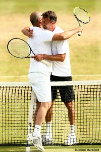 Goran Ivanisevic and Cedric Pioline