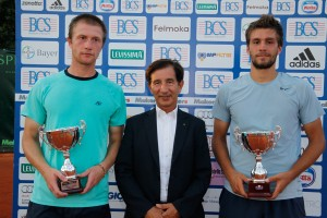 Nilola Mektic and Antonio Sancic claimed the doubles title in Milan (photo: Aspria Tennis Cup)