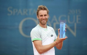 Norbert Gombos captured his second ATP Challenger title (photo: Sparta Prague Open/Pavel Lebeda)