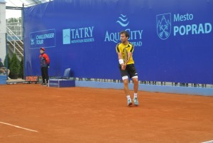 Pere Riba is playing his only fifth tournament of the season
