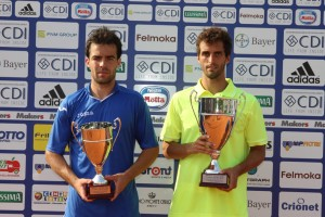 Albert Ramos defeated Pere Riba last year in Milan's final