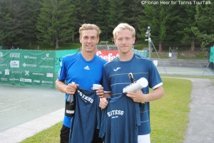 Isaak Arvidsson and Daniel Windahl claimed their first team title