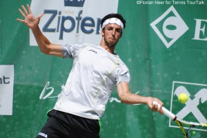 Andrea Basso played his fourth career final