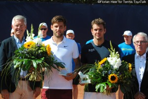 Filip Krajinovic and Paul-Henri Mathieu met for the first time on the tour
