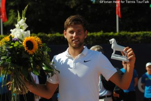 Filip Krajinovic claimed his first title of the season