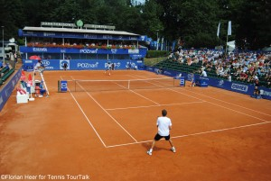 Centre Court Poznan Open during the final in 2015