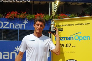 Pablo Carreno-Busta lifted his 11th ATP Challenger trophy