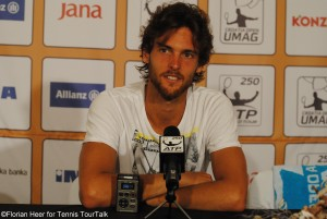 Joao Sousa secured his second spot in a final this season