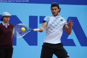 Joaso Sousa left centre court in a pretty angry way