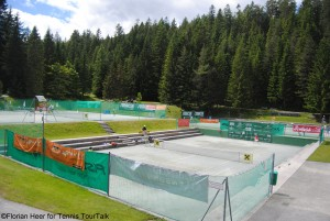 Tennis in Seefeld on green clay