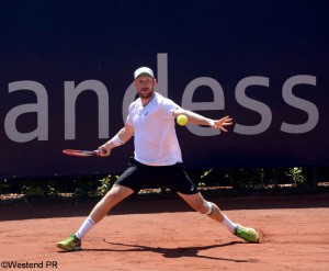 Matthias Bachinger reached the second round