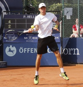 Peter Heller made it into the final round of the qualifying (photo: Thomas Ammerpohl)