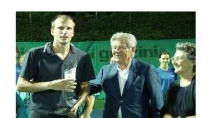 Mirza Basic lifted his first ATP Challenger trophy (photo: ATP CH Recanati)