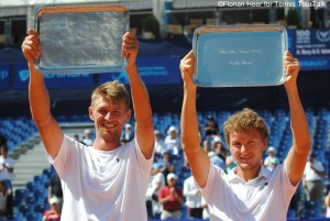 Alexander Bury and Denis Istomin claimed their first team title