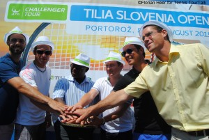 Start into the third edition of the Slovenia Open in Portoroz