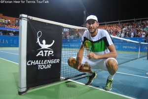 Luca Vanni claimed his first ATP Challenger title
