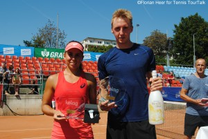 Two Austrians were successful on home soil: Julia Grabher and Bastian Trinker