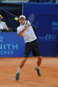 David Goffin reached his second final of the season, following s'Hertogenbosch