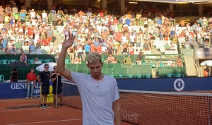 Dominic Thiem celebrated his ninth consecutive match win  (Photo: GEPA pictures/ Hans Osterauer)