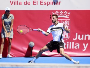 Marcel Granollers advanced to the quarterfinals (photo: ALBERTO SIMON)