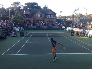 Haas defeats Rublev in first round in Aptos (photo: Facebook Seascape Sports Club)