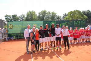 The doubles finalists in Meerbusch (photo: Maserati Challenger)