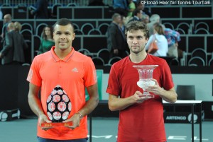 Jo-Wilfried Tsonga beat Gilles Simon seventh time in their 10th Tour meeting