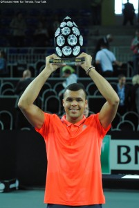 Jo-Wilfried Tsonga lifted his 12th ATP career title