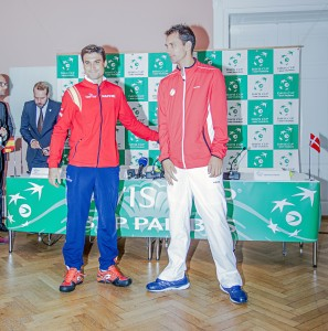David Ferrer will take on Frederik Nielsen (photo: Dansk Tennis Forbund)