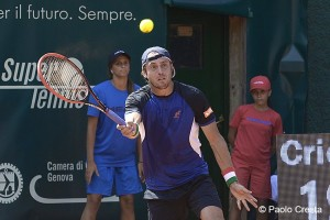Paolo Lorenzi qualified for the second round