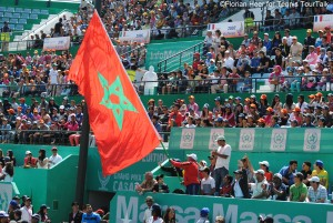The Moroccan flag will fly in Marrakech in 2016 (here 2014 final day in Casablanca)