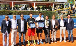 Federico Delbonis claims the title in Rome
