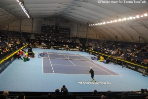 Former court no 1, this year's centre court of the Valencia Open