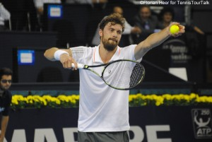 Daniel Brands won his first main draw match on the ATP World Tour since January 2014