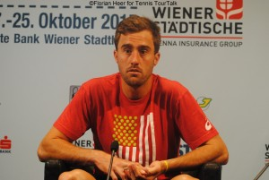 Steve Johnson in Vienna
