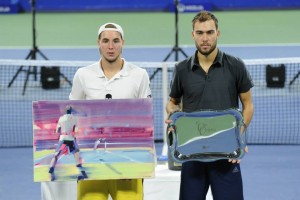 The finalists: Jan-Lennard Struff and Jerzy Janowicz (photo: tournament website)