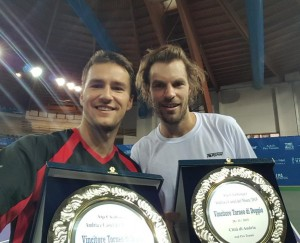Doubles champions in Andria: Marco Chiudinelli and Frank Moser
