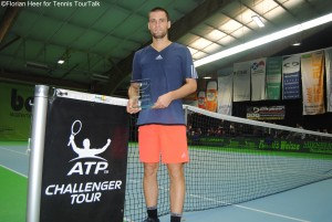 Mikhail Youzhny captured his second ATP Challenger crown