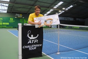 Ricardas Berankis captures the title in Ortisei