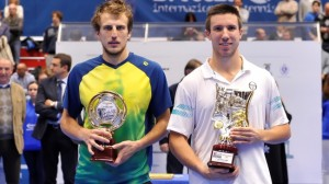 The finalists in Brescia: Mirza Basic and Igor Sijsling